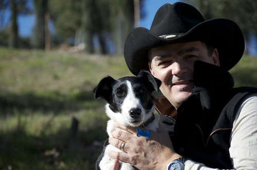 And thats the report on cowboys, dogies and doins at Two Terrier Vineyards.