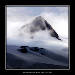 Antarctic Mountain Peak (Heaven`s Gate (John)) Tags: cruise blue light white mist mountains cold ice expedition landscape dramatic antarctica glacier discovery hopebay drakepassage 100faves 50faves mvdiscovery 10faves 25faves johndalkin heavensgatejohn p1f1 antarcticsound excapture mountainsnaps antarcticmountainpeak