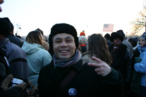 Me at Inauguration from National Mall