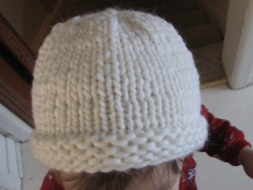 Free Knitting Pattern For Baby Hat In Chunky Yarn : Knit Beanie Hat Pattern Patterns Gallery