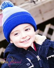 Xan Winter Outside (Krista Gabbard) Tags: winter boy cold smile outside toddler play coat son bluehat