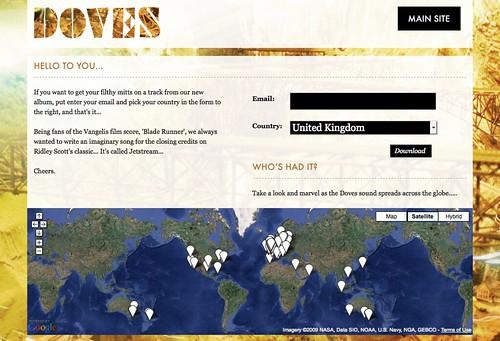 Doves site