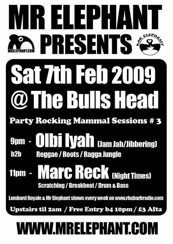 ELEPHANT-Bulls-Head-POSTER-