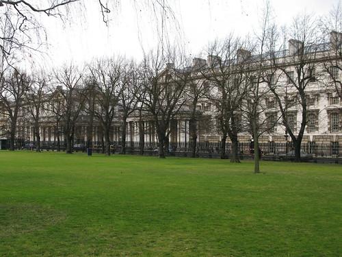Romney Road from Greenwich Park