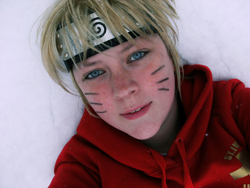 blue snow anime eyes cosplay manga naruto sasuke