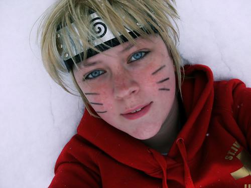 blue snow anime eyes cosplay manga naruto sasuke