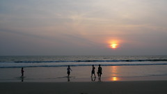 Kerala Beach Sunset