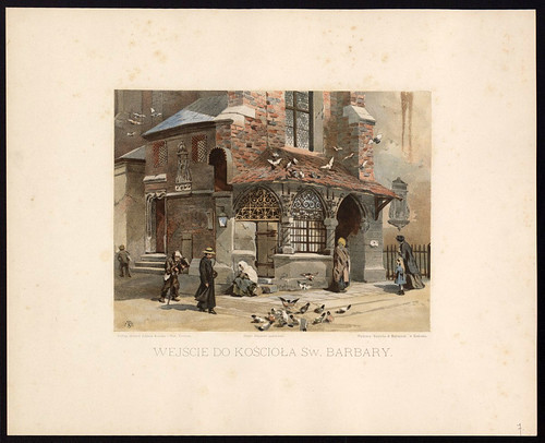 006- Entrada a la iglesia de Sta. Barbara-1886