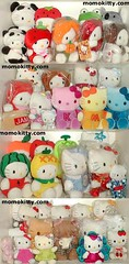 my HK plush collection (iheartkitty) Tags: cute japan japanese hellokitty plush sanrio kawaii iheartkitty