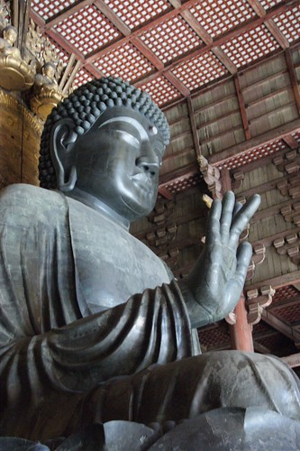 Big Buddha at Todai-Ji  東大寺