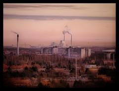 Industrial disease (Kirsten M Lentoft) Tags: sunset hospital denmark powerplant glostrup avedøre kirstenmlentoft