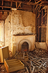 (deatonstreet) Tags: abandoned fireplace kentucky interior louisville mansion ouerbacker