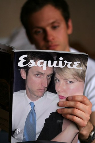 Oh, didnt I mention - Esquire totally did an article on our fabulousess.