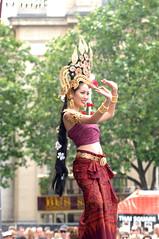 DSC_6839 Thai Cultural Dancing Trafalgar Square London (photographer695) Tags: london beauty square dance dancing trafalgar exotic thai ethnic cultural