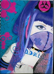 Portrait (Naitoyuki4444710) Tags: pink wallpaper paris anime art japan illustration lune logo de photography petals rainbow spain asia kei pics web banner goth manga super blogger hyde junior oriental visual vamps larme larcenciel suju heechul naitoyuki ainafetse