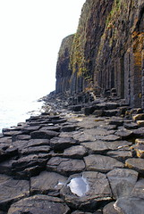 Giant Path (little_frank) Tags: staffa innerhebrides scotland uk unitedkingdom greatbritain europe nature fingalscave sea atlantic ocean volcanic rock black dark mysterious marvel wonder columns grotta caverna giant gigante scozia isola boat ebridi water breathless breathtaking primordial impressive stunning natural unspoiled pure view fabulous irreal special fantasy fantastic place wild wilderness dream dramatic north northern nordic mythology vastness 1001nights soe rubyphotographer vosplusbellesphotos citrit ultimateshot columnarbasalt scenery walkway path danger dangerous eruption basalt basaltic column columnar beautiful rocky geology formation geologic