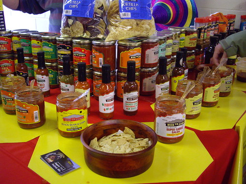 Montezuma Salsa Display