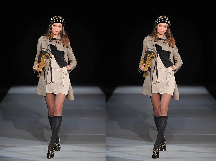 Emporio Armani Doubles Up at Milan Fashion Week - Fall RTW 2009