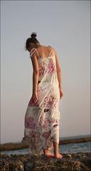 Sochi evening (atyz78) Tags: pink flowers sea summer evening alone dress dream horizont sochi закат цветы лето море розовый вечер сочи assol одиночество платье задумчивость прошлое
