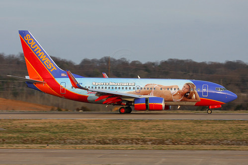 "Southwest Airlines - Boeing 737-7H4 (N922WN) - ""Sports Illustrated One"""