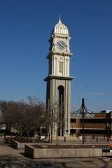 Dubuque Clock Tower, Iowa (ap0013) Tags: usa tower clock america nikon downtown nikond100 iowa clocktower d100 dubuque dubuqueiowa dubuqueclocktower