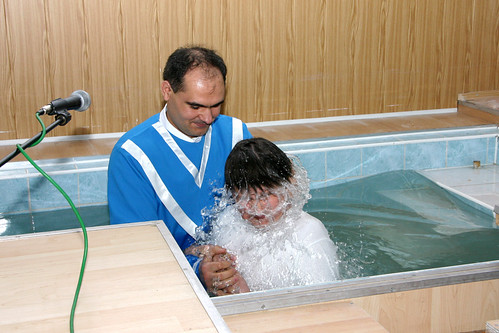 How long shall a new repented person wait until he can be baptized?