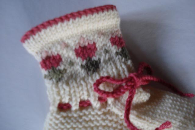 Дитячі шкарпетки з квіточками