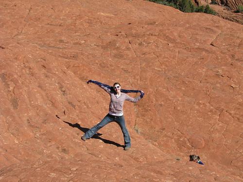 a triumphant climb