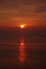 Sunrise over St. Lawrence (tobysaltzman) Tags: sunrise quebec stlawrenceriver