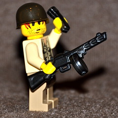 Brickarms PPSh prototype (The Ranger of Awesomeness) Tags: lego bap ba baps roa brickfest brickarmsprototypes newbrickarmsprototypes