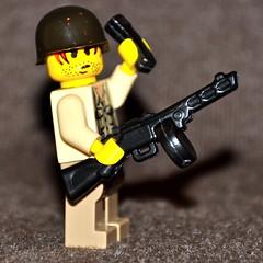 Brickarms PPSh prototype (The Ranger of Awesomeness) Tags: lego bap ba baps roa brickfest brickarmsprototypes newbrickarmsprototypes