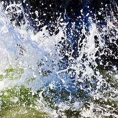 m-1300 Splash (tengtan (away awhile)) Tags: sea motion water speed drops energy waves spray foam angry photofriday abstraction splash smashing teng whipped auselite tengtan
