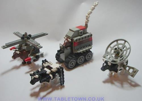Cattle Rebellion custom minifigs