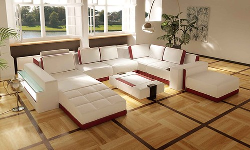 Entertain with these great modern sectional sofas