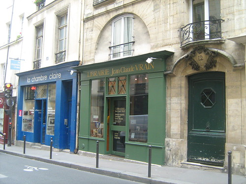 Book Shops on Rue Saint Sulpice by T. de Manille