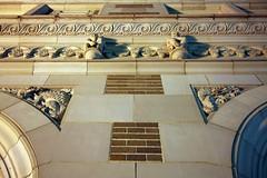 (mlsnp) Tags: downtown texas tx houston symmetry symmetrical ricehotel noflashnightshot postricelofts