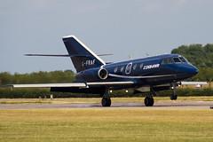G-FRAF - Cobham - Dassault Falcon 20DC Mystere - 090704 - Waddington - Steven Gray - IMG_8706