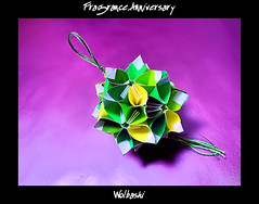 Fragrance Anniversary (wolbashi) Tags: origami modular paperfolding unit