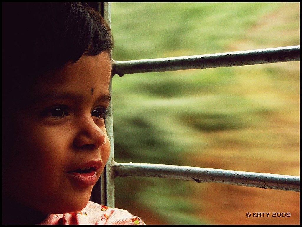 Teju on Train