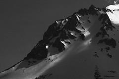 (802) Tags: park bw mountain snow national volcanic lassen crag
