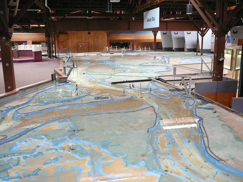 A model of the tidal flows in the bay area