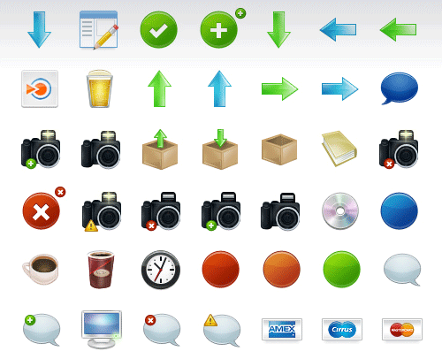 Function Icon Set
