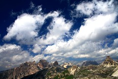 One shadow for each cloud (Robyn Hooz) Tags: italy beautiful canon italia sigma os moso trentino dolomiti sud tirolo sesto 18125 hsm valpusteria flickrestrellas spiritofphotography 1000d fabbow
