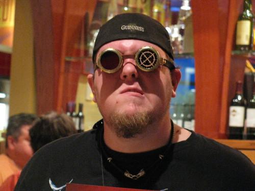 Sean in the Goggles