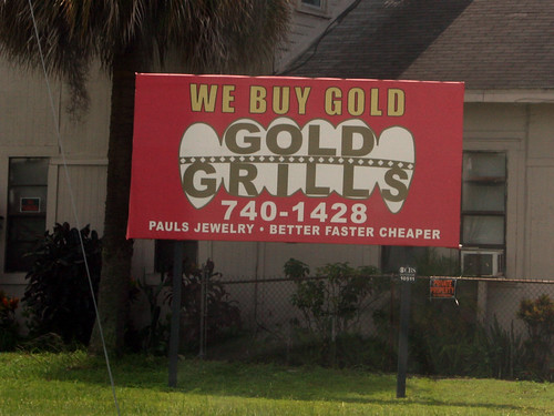 We Buy Gold Grills
