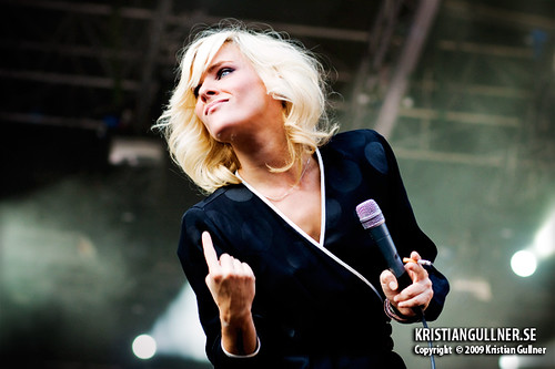 The Sounds at Malmöfestivalen