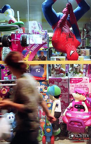 Enquanto isso na loja de brinquedos...