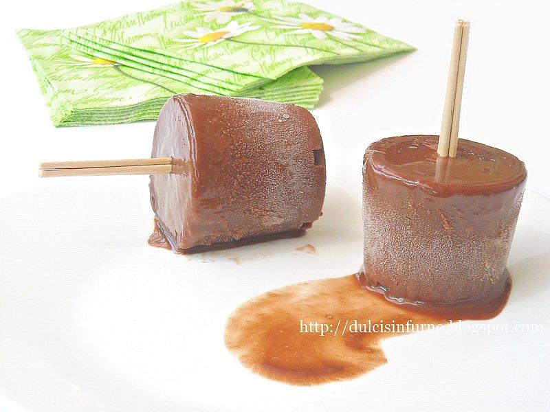 Ghiaccioli al Cacao