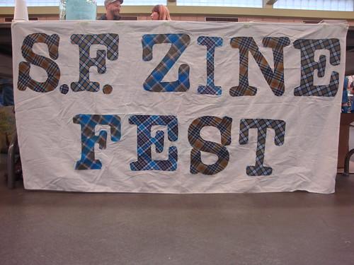 S.F. Zine Fest banner
