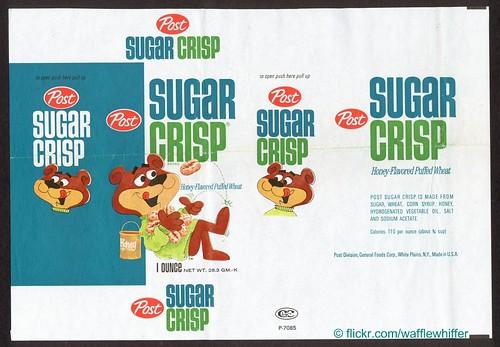 Sugar Crisp - 1960s